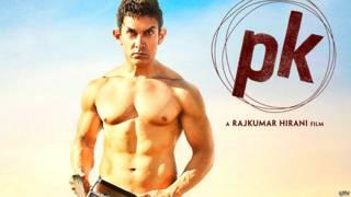 आमिर खान की 'पी के' फिल्म की पोस्टर