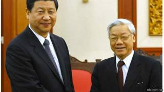 Lãnh đạo Việt Nam, Trung Quốc