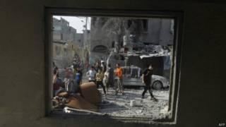 Destruição em Rafah (AFP/ Getty)