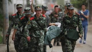 चीन भूकंप