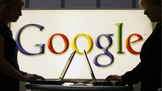 Imagem mostra logo do Google. Credito: AP