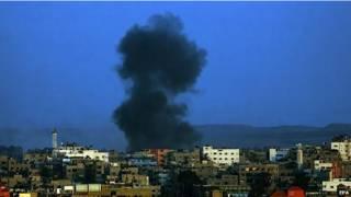 ग़ज़ा पर इसराइल का हवाई हमला, चार अगस्त