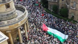 Maandamano ya London kuhusu Gaza
