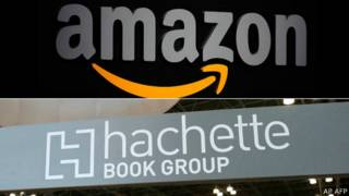 Logotipos de Amazon y Hachette