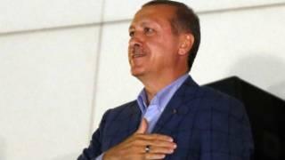 Sabon shugaban kasar Turkiyya Racep Tayyep Erdogan