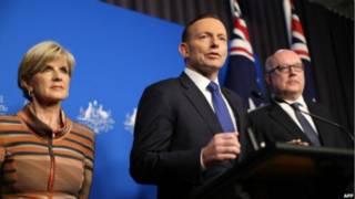 رئيس وزراء استراليا توني أبوت