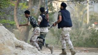 جنگجویان لیبی