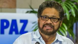 Iván Márquez, jefe de la delegación de las FARC