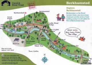 Карта Беркхамстеда