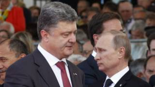 Putin Poroshenko