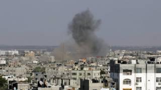 Обстрел Газы