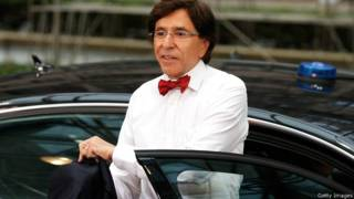 बेल्जियम के निवर्तमान प्रधान मंत्री डी रूपो