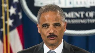 El fiscal general de Estados Unidos, Eric Holder