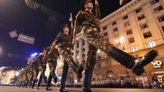 यूक्रेन परेड तैयारी