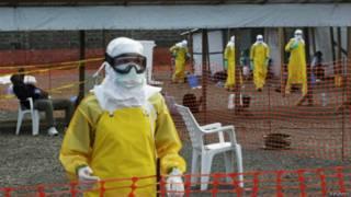 लाइबीरिया में स्वास्थ्य कर्मी