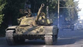 Танки на озброєнні в сепаратистів