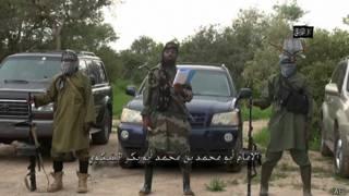 Imagen de un video de Boko Haram