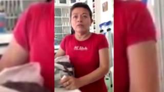 Video Lady Chiles donde una mujer maltrata a una trabajadora del hogar en México. Foto: BBC
