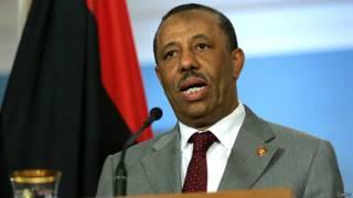 लीबिया के प्रधानमंत्री अब्दुल्ला अल थानी