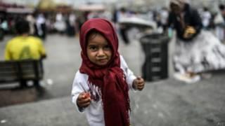 Refugiada síria (AFP)