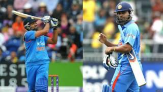 रोहित शर्मा और मुरली विजय