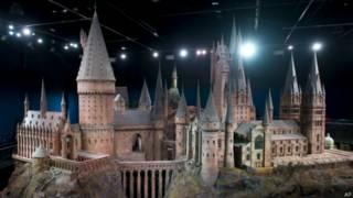 《哈利•波特》中霍格沃茨城堡的模型
