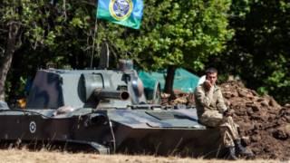 Украинский танкист