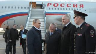 Президент РФ Владимир Путин прилетел в Якутск