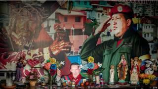 Santuário de Chávez. Credito: EPA