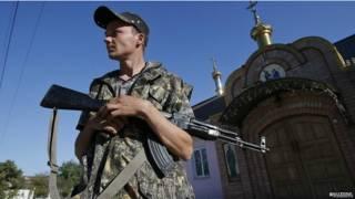 Донбасский ополченец
