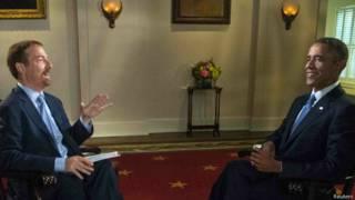 Entrevista de Obama à NBC | Crédito: Reuters