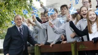 स्कॉटलैंड जनमत संग्रह