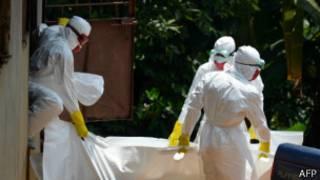 Liberia, Sierra Leone na Guinee nibyo byibasiwe cyane na Ebola.