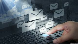 Computadora e emails
