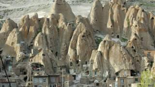 Casas en Kandovan, Irán
