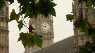 Биг-Бен и здание парламента в Лондоне