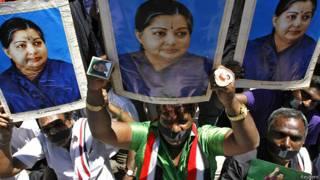 जयललिता के समर्थक