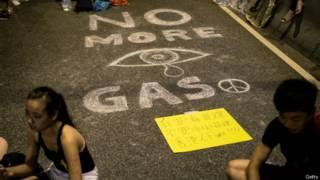"Граффити ""No more gas"""