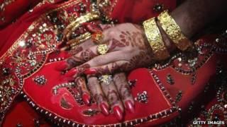 美麗的新娘