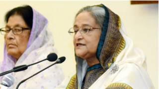 बांग्लादेश की प्रधानमंत्री शेख हसीना