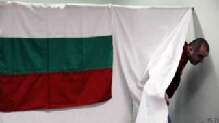 Кабинка для голосования в Болгарии