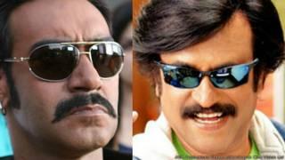 अजय देवगन और रजनीकांत
