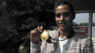 मनदीप कौर, एशियाई खेलों क स्वर्ण पदक विजेता, इंचियोन, दक्षिण कोरिया