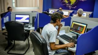 Club de computación en Cuba.