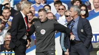 Arsene Wenger sorry Mourinho.