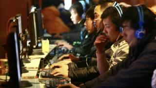 интернет кафе в китае