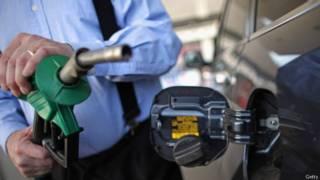 Bomba de gasolina no Reino Unido