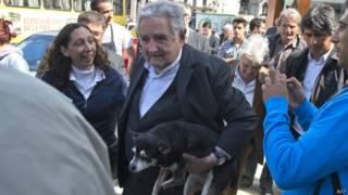 O presidente do Uruguay, Jose Mujica
