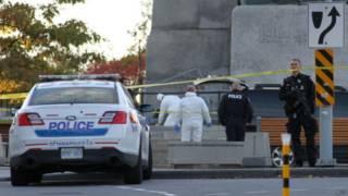 कनाडा में गोलीबारी
