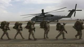 英軍撤離阿富汗